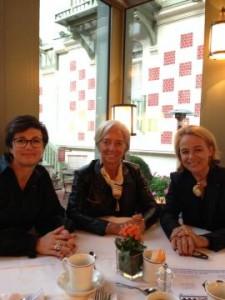 Christine Lagarde pour FinanciElles WF 2014